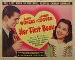 Her First Beau Original US Title Lobby Card