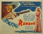 Ramrod Original US Title Lobby Card