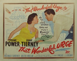 That Wonderful Urge Original US Title Lobby Card
