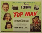 Top Man Original US Title Lobby Card