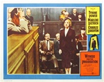 Witness For The Prosecution Original US Lobby Card