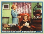 Dead Ringer Original US Lobby Card