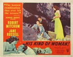 His Kind Of Woman Original US Title Lobby Card