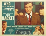 The Racket Original US Lobby Card