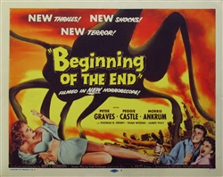 Beginning Of The End Original US Title Lobby Card