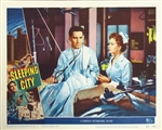 The Sleeping City Original US Lobby Card