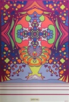 Peter Max Light Years Original Vintage Poster