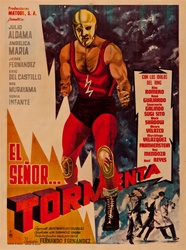 El Senor Tormenta Original Mexican One Sheet