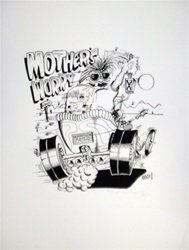 Stanley Mouse Mothers Worry Silkscreen
