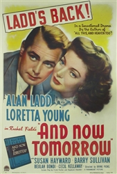 And Now Tomorrow Original US One Sheet