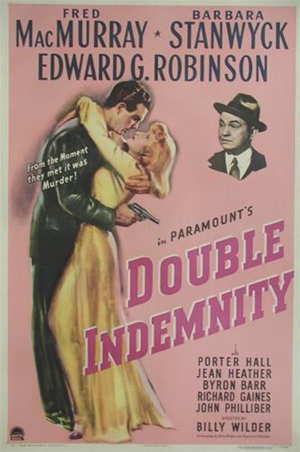 double indemnity original us one sheet vintage movie poster film noir