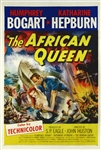 The African Queen US Original One Sheet