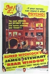 Rear Window Original US One Sheet