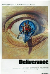 Deliverance Original International One Sheet