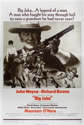 Big Jake Original US One Sheet