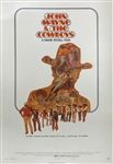 The Cowboys Original US One Sheet