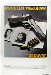 The Getaway Original US One Sheet