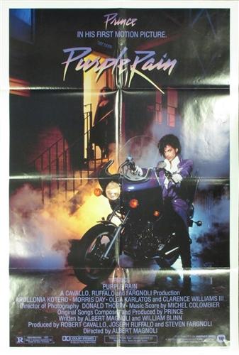 Purple Rain Original US One Sheet Vintage Movie Poster Prince