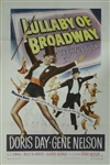 Lullaby Of Broadway Original US One Sheet