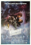 Star Wars Empire Strikes Back Original US One Sheet