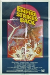 Star Wars Empire Strikes Back Original US Reissue One Sheet