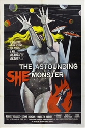 Astounding She Monster Original US One Sheet