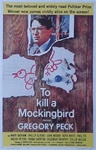 To Kill A Mockingbird Original US One Sheet