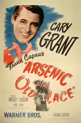 Arsenic and Old Lace Original US One Sheet