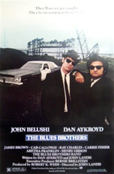 Blues Brothers Original US One Sheet