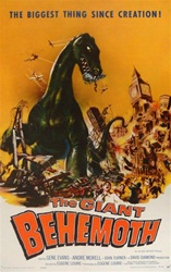 The Giant Behemoth Original US One Sheet