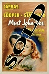 Meet John Doe Original US One Sheet