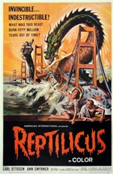 Reptilicus US One Sheet