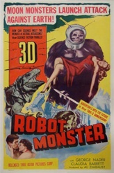 Robot Monster US One Sheet