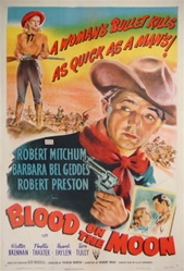 Blood on the Moon US One Sheet