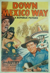 Down Mexico Way US One Sheet