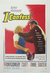 I Confess US One Sheet