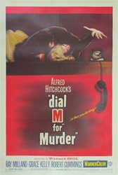 Dial M for Murder US One Sheet