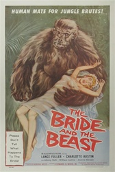 The Bride and the Beast US Original One Sheet