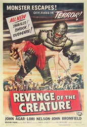 Revenge of the Creature US Original One Sheet