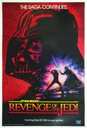 Revenge of the Jedi US Original One Sheet