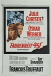 Fahrenheit 451 US Original One Sheet