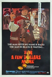 For a Few Dollars More US Original One Sheet