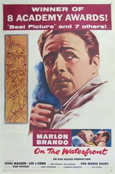 On the Waterfront Original One Sheet