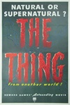 The Thing Original US One Sheet