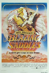 Blazing Saddles Original US One Sheet