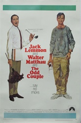 The Odd Couple Original US One Sheet
