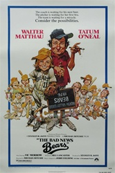 The Bad News Bears Original US One Sheet