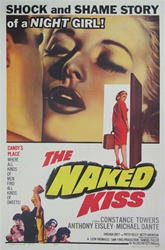 The Naked Kiss Original US One Sheet
