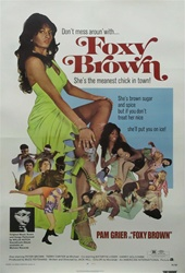 Foxy Brown Original US One Sheet