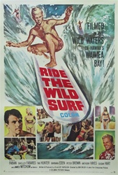 Ride the Wild Surf Original US One Sheet